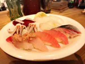 ガル屋でお寿司by松下