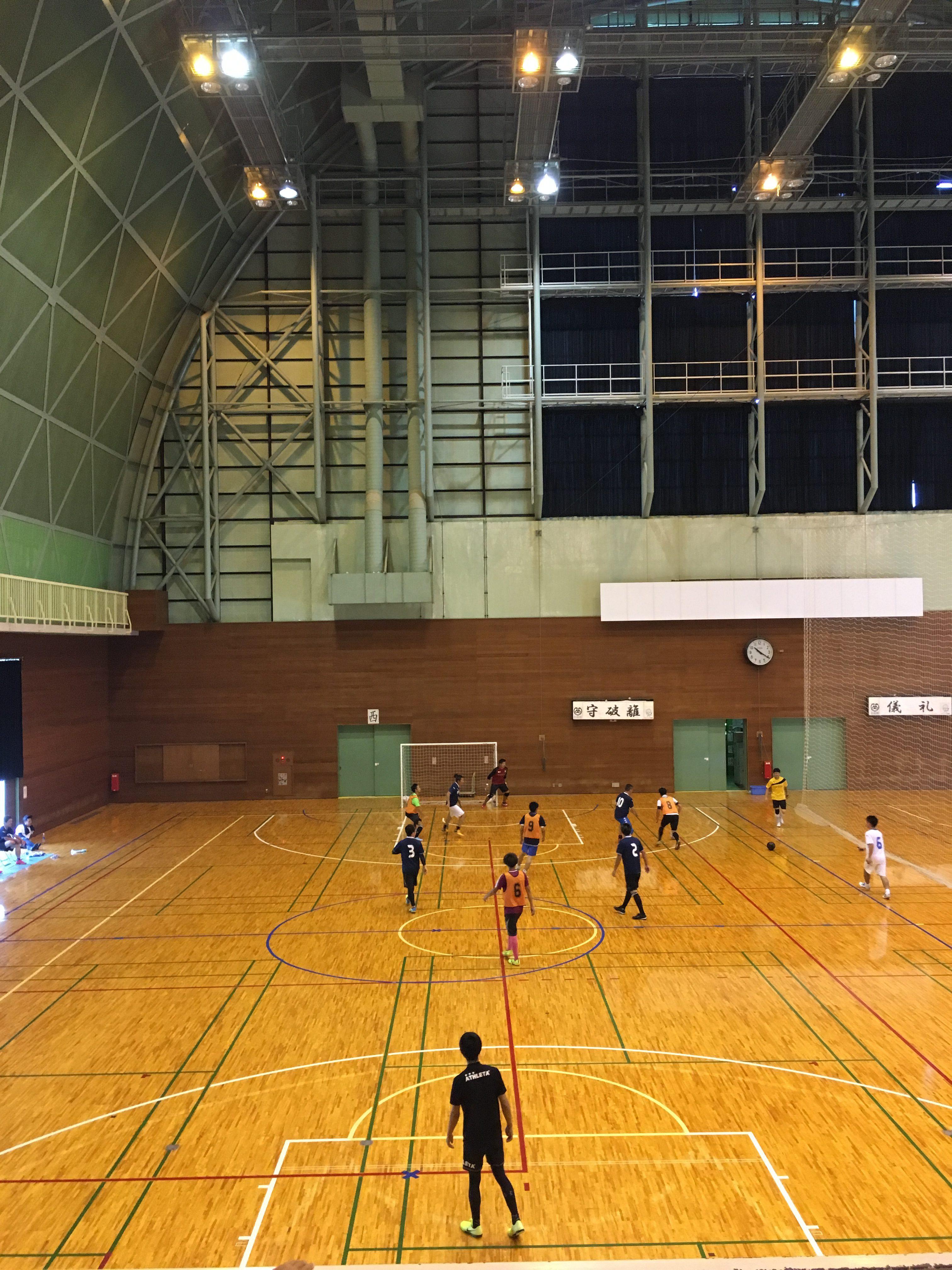 Futsal and Okonomiyaki party!  フットサルとお好み焼きパーティー!